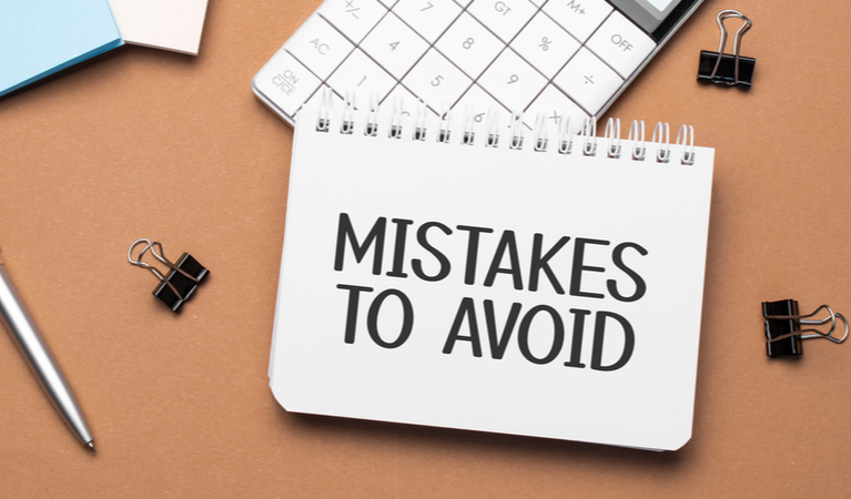 Avoid common mistakes in your business return